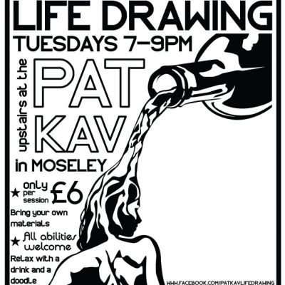 News: Pat Kav Life Drawing | Patrick Kavanagh Moseley  | Tue 19th March 2013