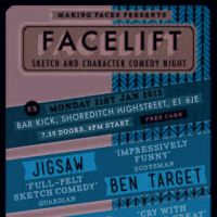 Facelift Sketch Comedy at BAR KICK