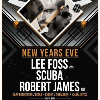 Warehouse NYE feat.  Lee Foss, Scuba & Robert James at Mo Club