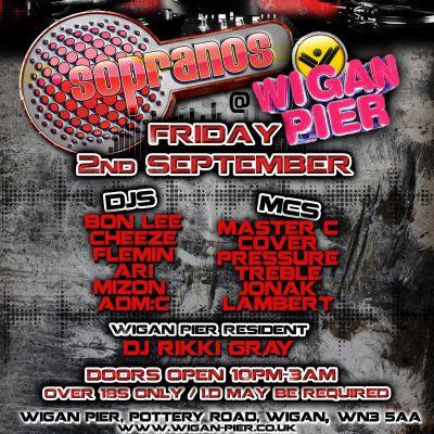 Wigan Pier Blackpool at Wigan Pier Night Club