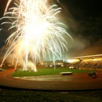 Edinburgh Annual Firework Display at Meadowbank Stadium