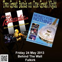 Money for Nothing & Atomic Blondie at Behind The Wall