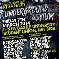 Goodgreef Xtra Hard - Underground Asylum