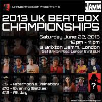 2013 UK Beatboxing Championships at Brixton Jamm