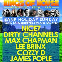 KINGS OF HOUSE UK - SOUTHEND - ALLDAYER - 1ST YEAR BIRTHDAY - 26.06.2013 at Skylark Hotel And Grounds