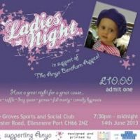 charity ladies night  at Groves Sports  And  Social Club