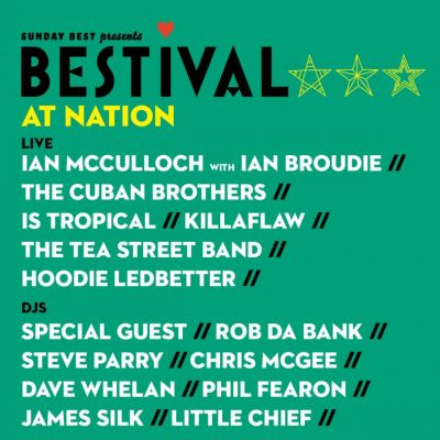 Bestival @ Nation Tickets | Nation Liverpool  | Sat 30th March 2013 Lineup