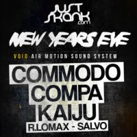 Just Skank New Years Eve: Commodo, Kaiju, Compa + More