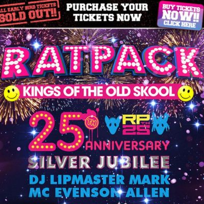 Ratpack 25th Bday 12hr Rave Tickets | Coronet Theatre London  | Fri 29th March 2013 Lineup