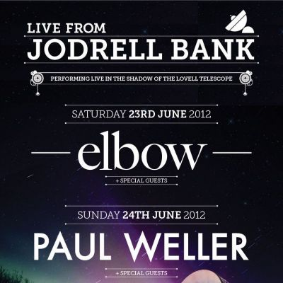 Photo album of Elbow Live From Jodrell Bank | Jodrell Bank Observatory Macclesfield  | Sat 23rd June 2012