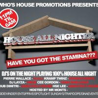House Allnighter Manchester  at Club Elysee