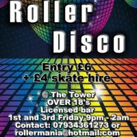 Rollermania over 18s roller disco  at Tower Ballroom