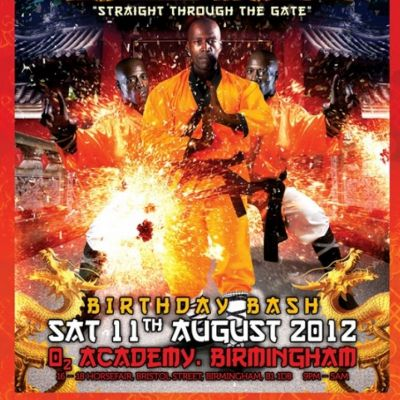 Venue: MC Bassman Official Birthday Bash 2012 | O2 Academy Birmingham Birmingham  | Sat 11th August 2012