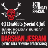 El Diablos Social Club - 10th Birthday - Darshan Jesrani (Metro Area