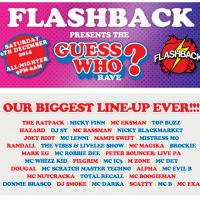 Flashback presents the Guess Who rave??