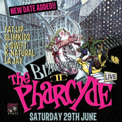 BIZARRE RIDE II THE PHARCYDE' NEW MANCHESTER DATE ADDED!!! Tickets | NQ Live (Formerly Moho Live) Manchester  | Sat 29th June 2013 Lineup