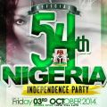 54th NIGERIA INDEPENDENCE PARTY