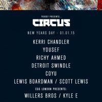 Yousef presents CIRCUS New Years Day