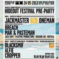 Hideout Festival Pre Party London at Fire Club 