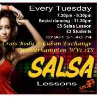 Tuesday Salsa Classes  at The Cuban Exchange