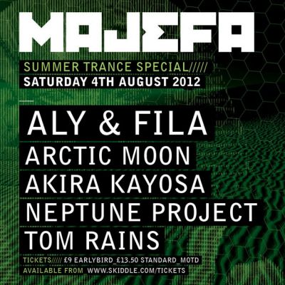 Reviews: Majefa Summer Trance Special 2012 | Sound Control Manchester  | Sat 4th August 2012