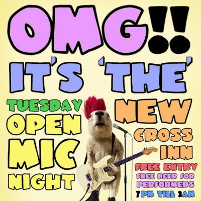 Open Mic Night | New Cross Inn London  | Tue 17th July 2012 Lineup