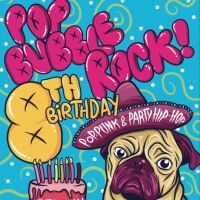 POP BUBBLE ROCK!: 8th Birthday Party