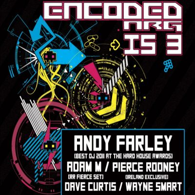 Frantic HDS, Hidden Hard And Encoded Nrg Present Encoded Nrg 3rd Birthday Tickets | Hidden - Vauxhall Vauxhall  | Fri 27th July 2012 Lineup