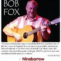 Sunray Folk Club presents Bob Fox at Broadmayne Village Hall