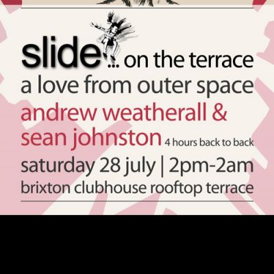 Slide On The Terrace - A Love From Outer Space with Andrew Weatherall & Sean Johnston Tickets | Brixton Club House Brixton  | Sat 28th July 2012 Lineup