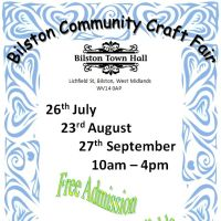 Bilston Community Craft Fair at Bilston Town Hall