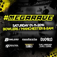 Megarave - Bowlers / Fantazia / HTID / Bounce Heaven / Harder They Come / T.L.I
