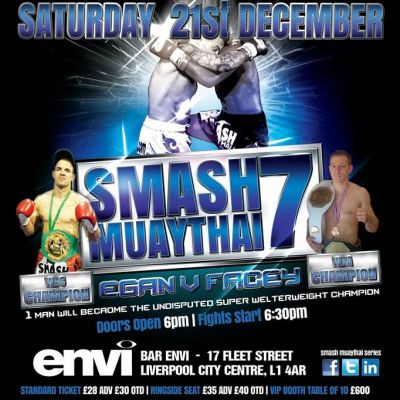 Smash Muaythai 7 at Envi