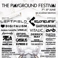 The Playground Festival w/ Leftfield-DJ, Digitalism, Gary Numan, James Lavelle (Unkle) + more