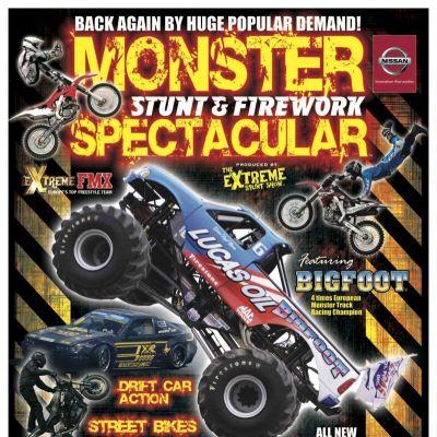 Monster Stunt & Firework Spectacular | Odsal Grattan Stadium Bradford  | Sat 2nd November 2013 Lineup