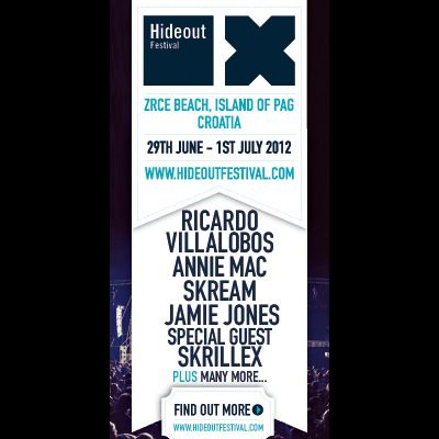 Venue: Hideout Festival 2012 | Zrce Beach Isle Of Pag  | Fri 29th June 2012