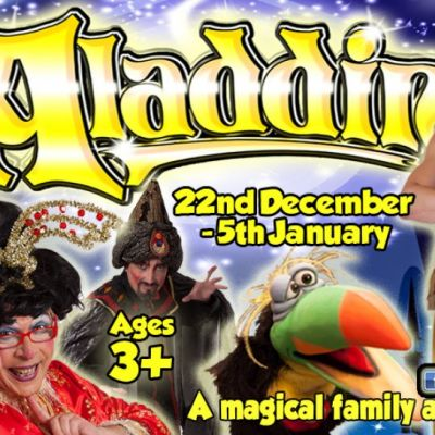 Aladdin – XMAS PANTO! | Ropetackle Arts Centre Shoreham-By-Sea  | Tue 24th December 2013 Lineup