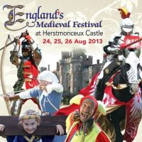 Englands Medieval Festival at Herstmonceux Castle (24, 25 &#38; 26 August 2013) at Herstmonceux Castle
