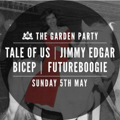 The Garden Party Pt.1 presents Tale of Us, Jimmy Edgar, Bicep, Futureboogie and many more  Tickets | Faversham Leeds  | Sun 5th May 2013 Lineup
