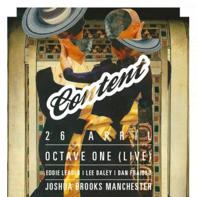 Content Presents - Octave One (LIVE) Tickets | Joshua Brooks Manchester  | Fri 26th April 2013 Lineup