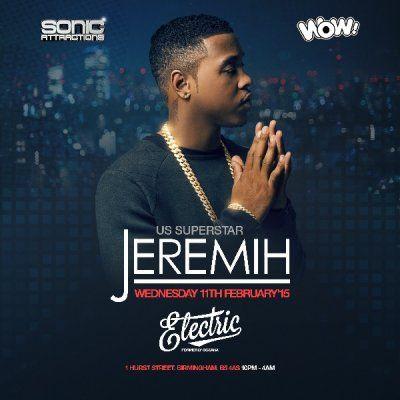 Electric Club Birmingham Jeremih at Electric Birmingham