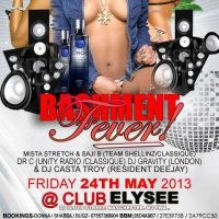 Bashment Fever at Club Elysee
