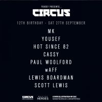 Yousef presents CIRCUS 12th Birthday