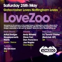 Lovezoo Pres. Artful Dodger at Gatecrasher Nottingham
