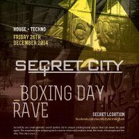 SecretCity Boxing Day