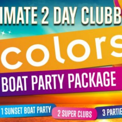 COLORS ULTIMATE 2-DAY BOAT PARTY & SUPER-CLUB EXPERIENCE Tickets | Boat Party - San Antonio - Ibiza San Antonio  | Mon 10th September 2012 Lineup