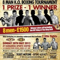 West Yorkshires Kings of The Ring - BOXING SHOW at Ramgarhia Sports Centre
