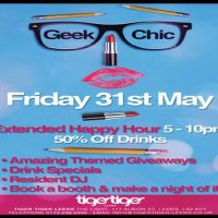 Geek Chic at Tiger Tiger Leeds