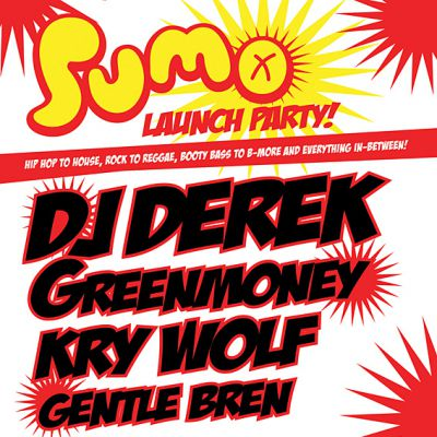 SUMO: DJ Derek + Greenmoney || Orange Rooms ||  Tickets | Orange Rooms Southampton  | Fri 17th September 2010 Lineup